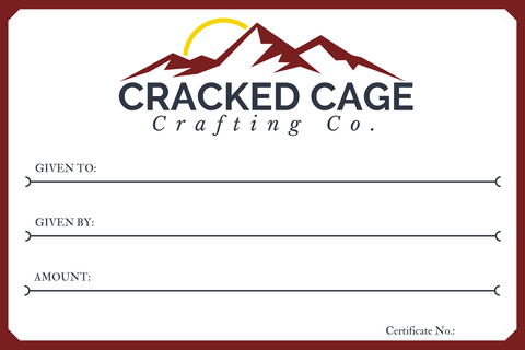 Cracked Cage Crafting Co. Gift Card
