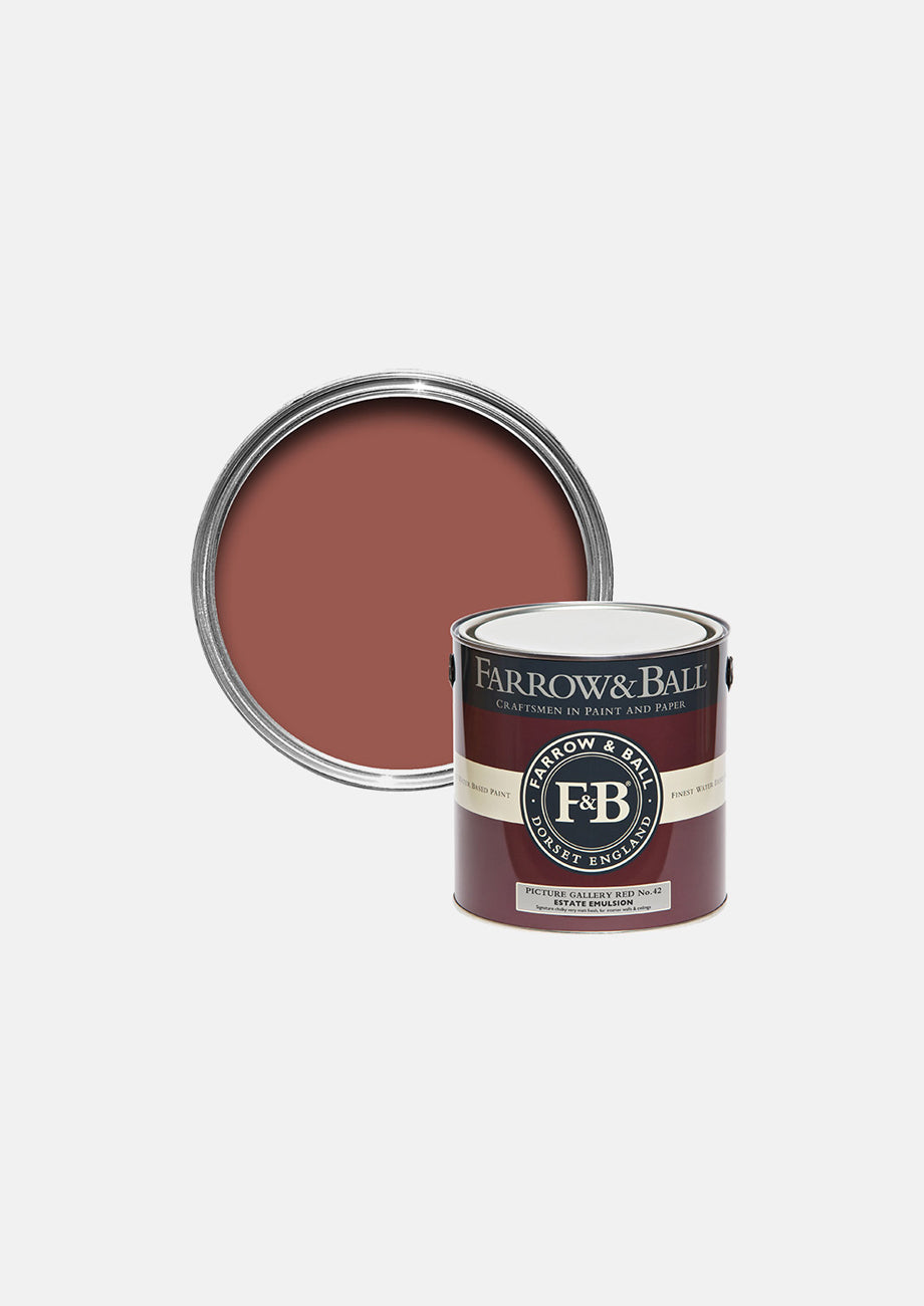 Farrow & Ball's Picture Gallery Red