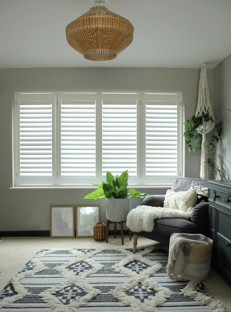 At Home with Kristine Clement Browne Shutters
