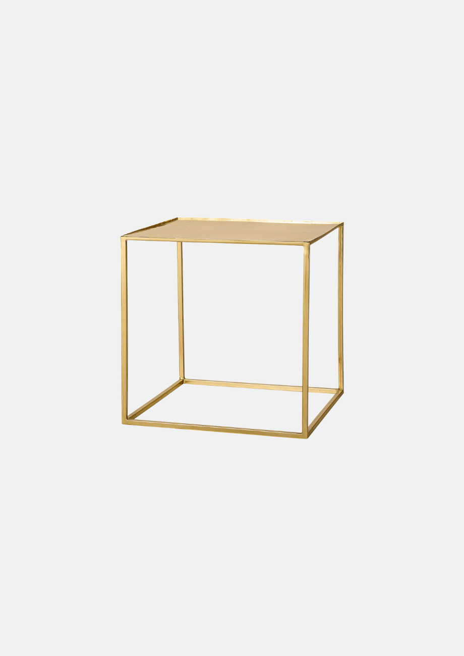 Bloomingville Cube Side Table - Gold