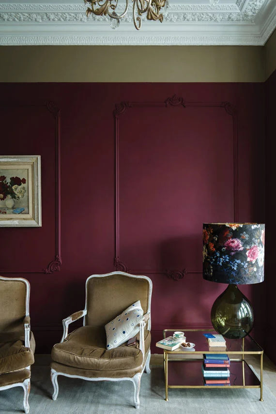 Styling Farrow & Ball's Preference Red