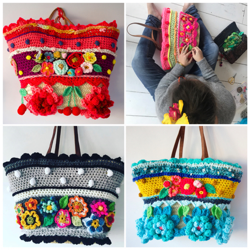 Crochet Pattern Bag by Pollevie