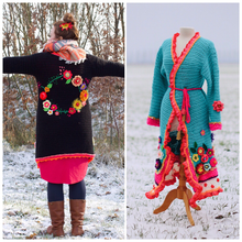 Load image into Gallery viewer, Crochet Pattern Cardigan by Pollevie