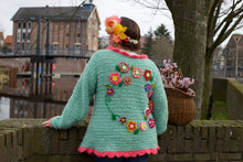 Afbeelding in Gallery-weergave laden, Crochet cardigan by pollevie nr 1