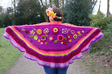 Afbeelding in Gallery-weergave laden, Crochet shawl wrap fro sale mohair silk alpaca by pollevie nr1