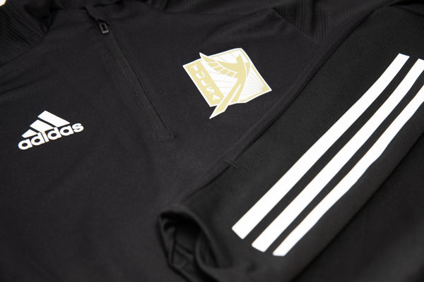 FC Tulsa Adidas Adult CON20 1/4 Zip Top