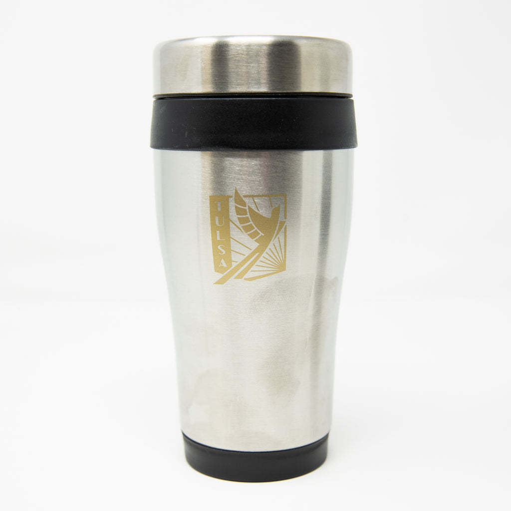 FC Tulsa Crest Stainless Steel Insulated Tumbler