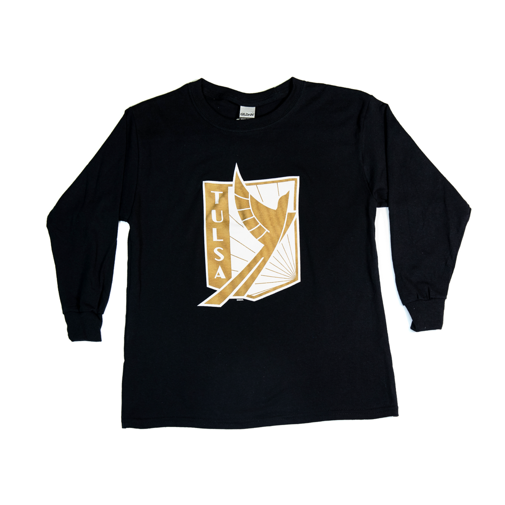 FC Tulsa Youth Primary Crest LS Tee