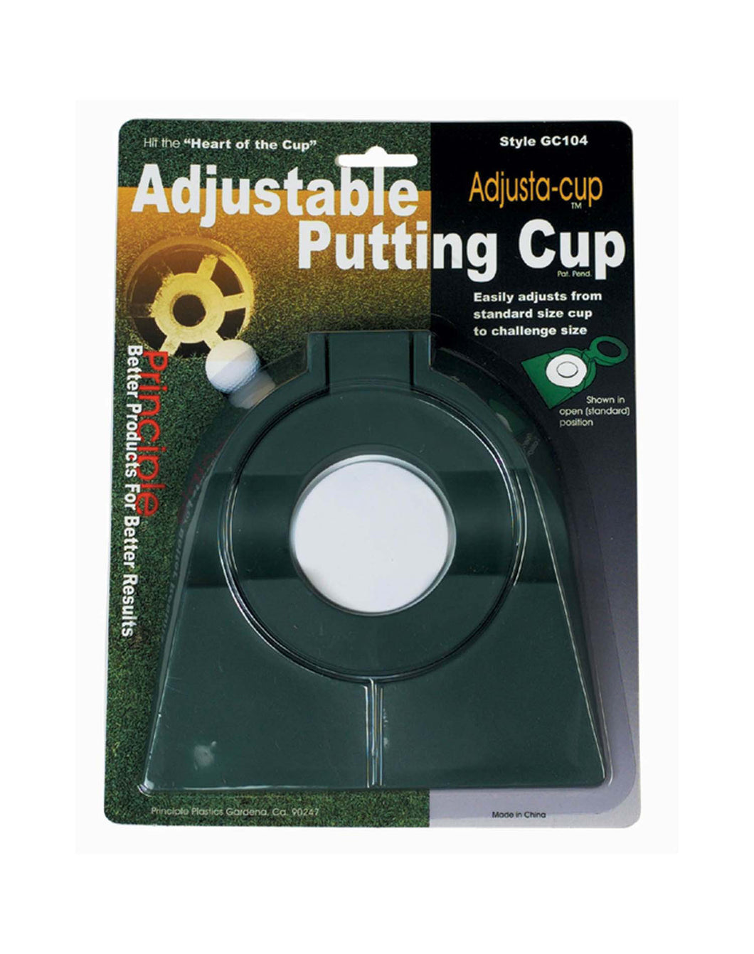 Adjust-cup - Adjustable Putting Cup