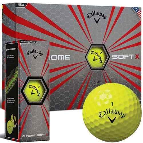 Callaway - Chrome Soft X Amarillo