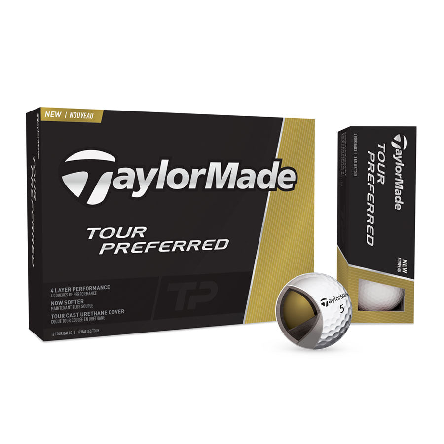 Taylormade - Pelota Tour Preferred 3PK