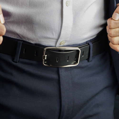 Trendy Formal Belt Black