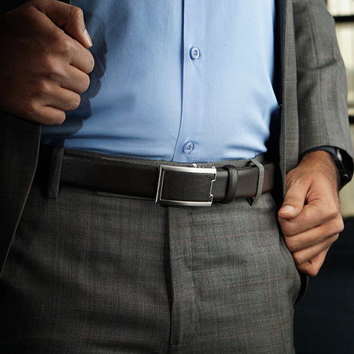 Honey Automatic Formal Belt Brown