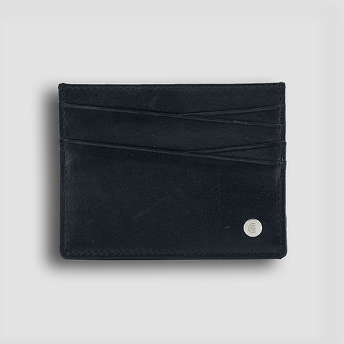 Bovine Card Holder Navy