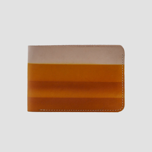 Rainbow Bi-fold Wallet Yellow