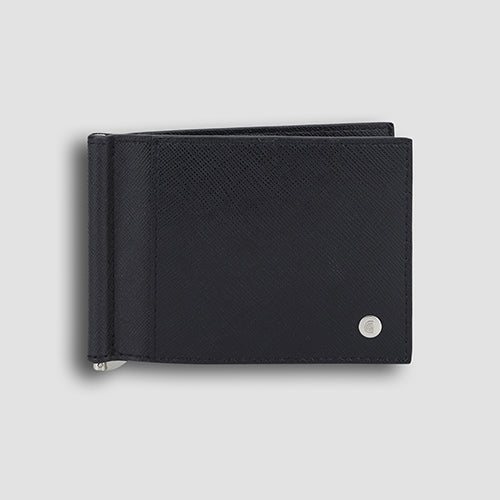 Saffiano Money Clip Black