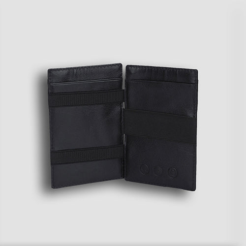 Buff Vachetta Magic Wallet Black