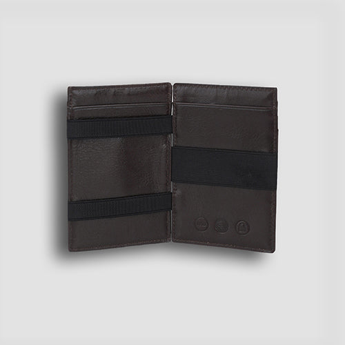 Buff Vachetta Magic Wallet Brown