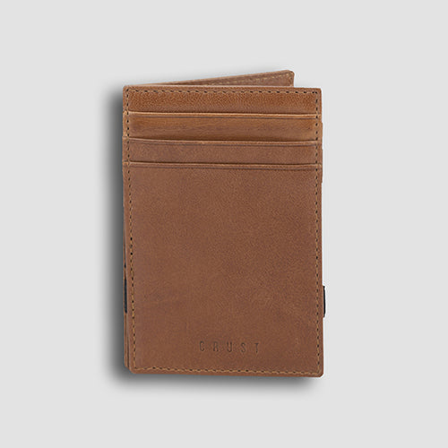 Buff Vachetta Magic Wallet Cognac