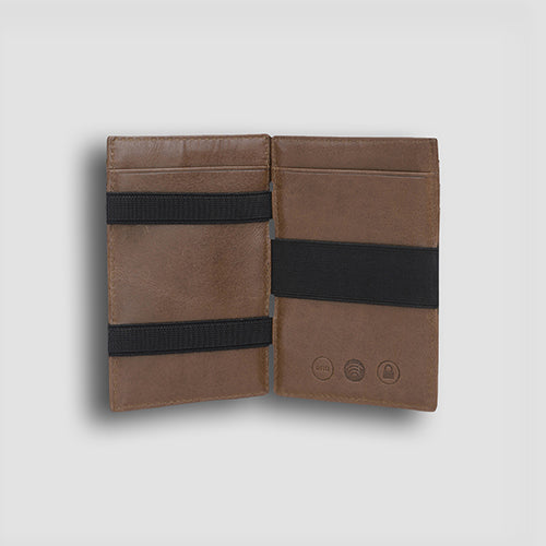 Buff Vachetta Magic Wallet Hazel