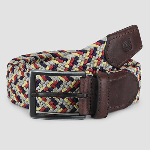 Weave Casual Belt Multi-colour