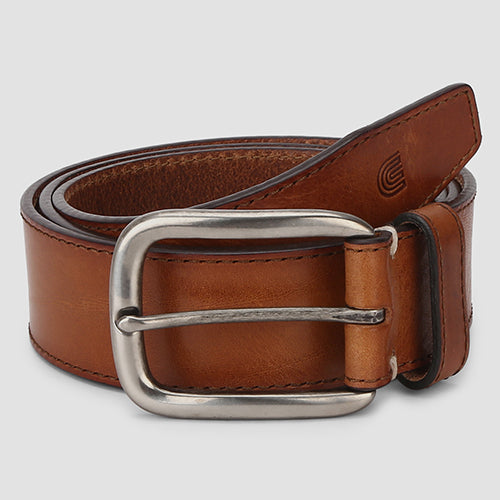 Nevada Casual Belt English Cognac