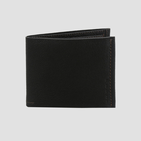 Nero Bi-fold Wallet Black