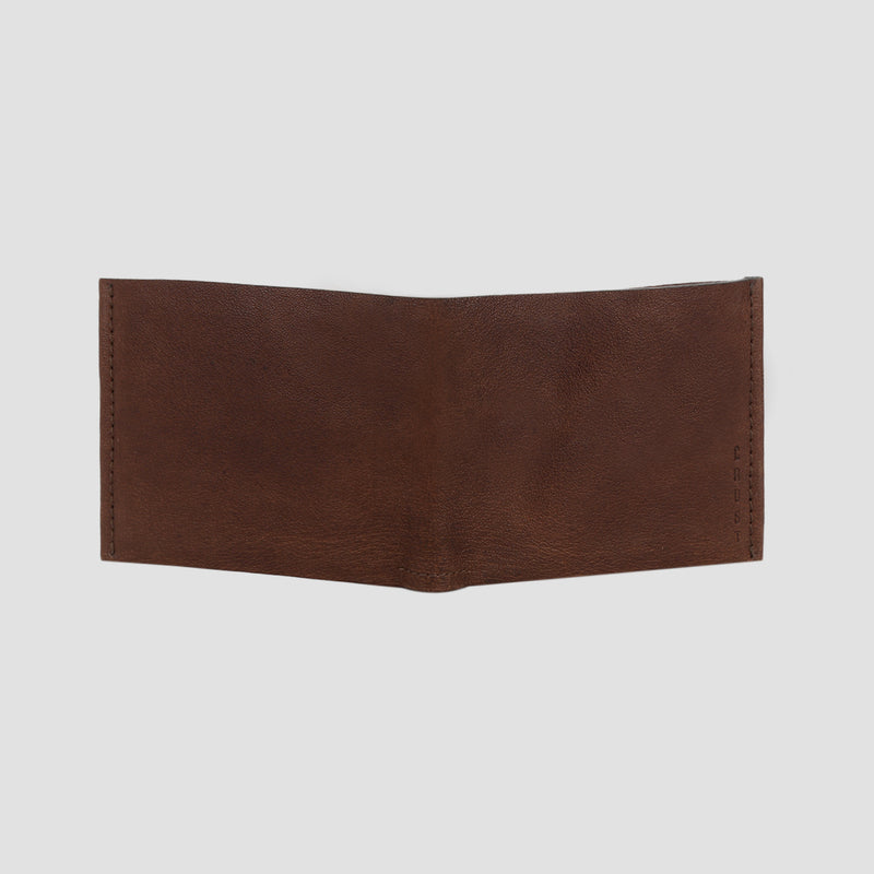 Nero Bi-fold Wallet Brown