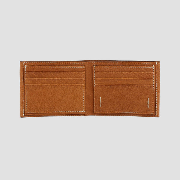 Nero Bi-fold Wallet Tan
