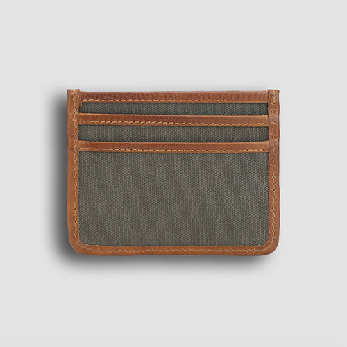 Leavas Card Holder Miele+Olive