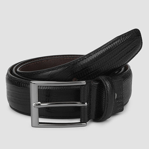 Lizard Formal Belt Black