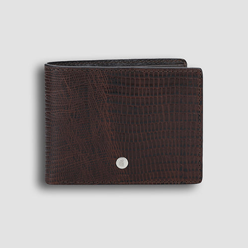 Lizard Bi-fold Brown