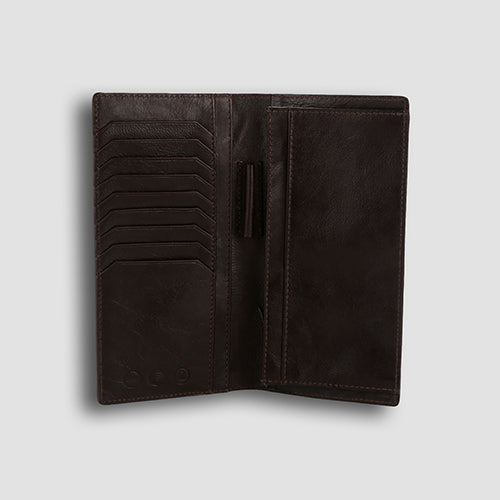 Ondina Long Wallet Brown