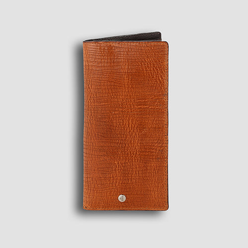 Ondina Long Wallet Cognac