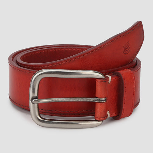 Nevada Casual Belt Red