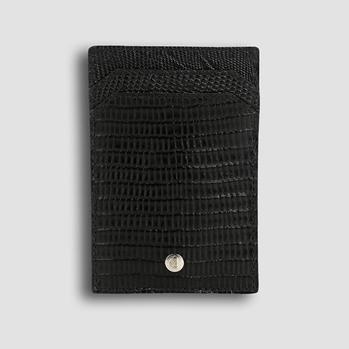 Lizard Money Clip Black