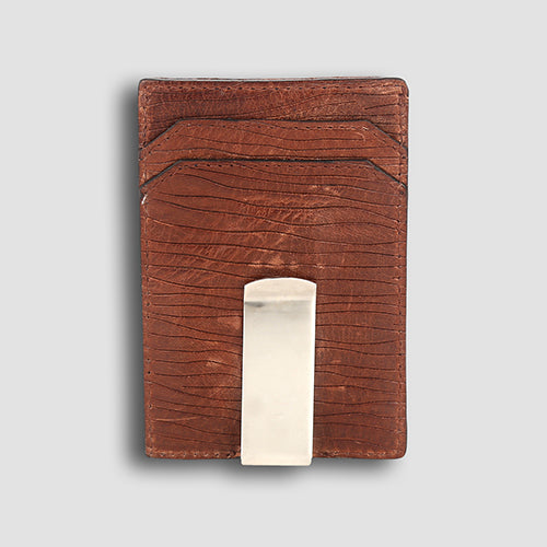 Ondina Money Clip Brown