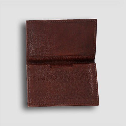 Milano Card Holder Brown