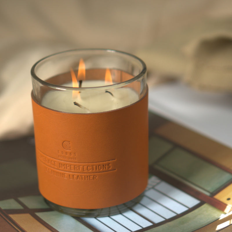 Sandal Scented Three-Wick Candle