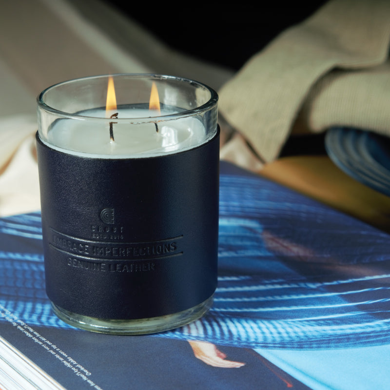 Ocean Breeze Scented Three-Wick Candle