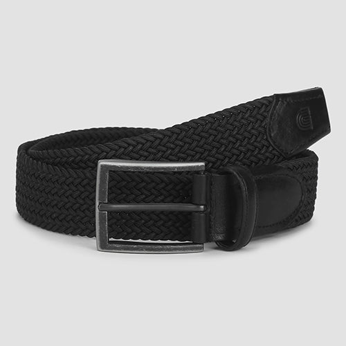 Weave Casual Belt Black