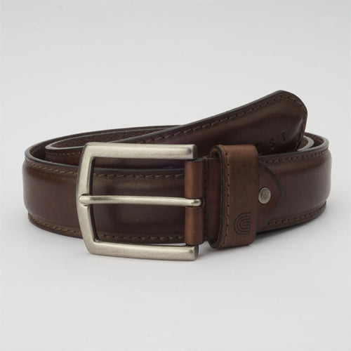 Oil Casual Belt Brown