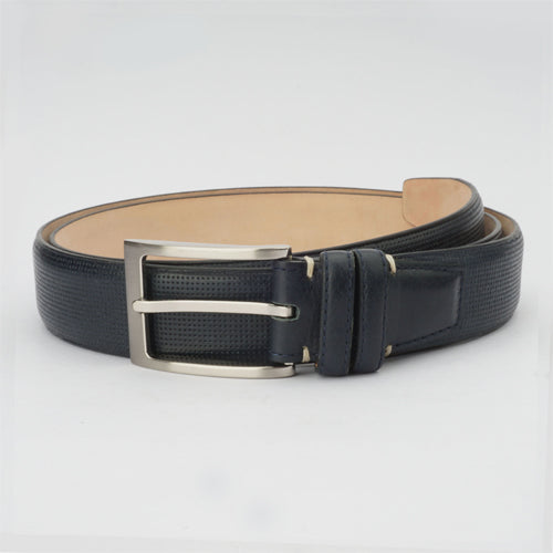 Bull Formal Belt Navy