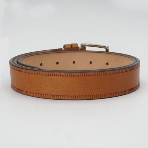 Bull Formal Belt Cognac