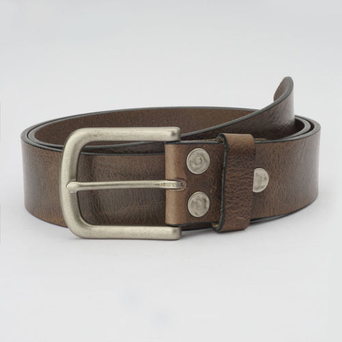 Vintage Casual Belt Grey