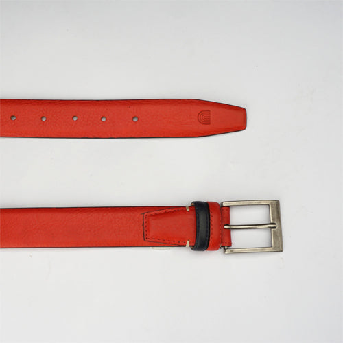 Bull Formal Belt Red