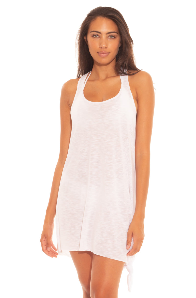 BREEZY BASICS KNOT DRESS