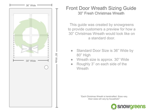 30 inch christmas tree sizing guide