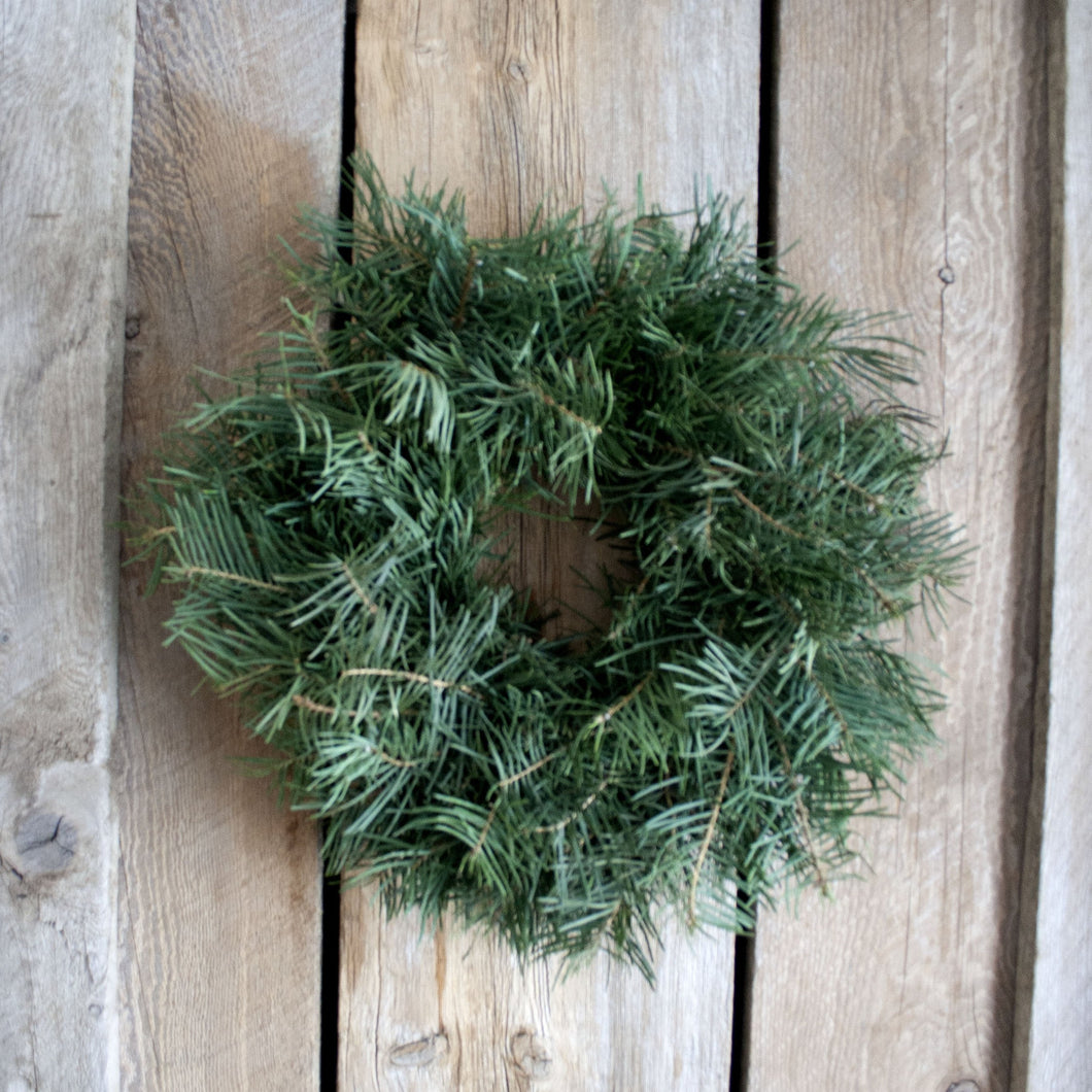 14 Inch Concolor Fresh Christmas Wreath