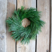 Load image into Gallery viewer, 14 Inch White Pine Fresh Christmas Wreath